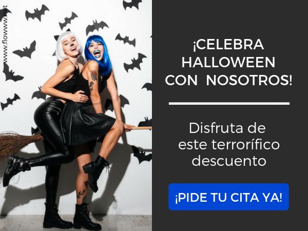 descuento + cita halloween