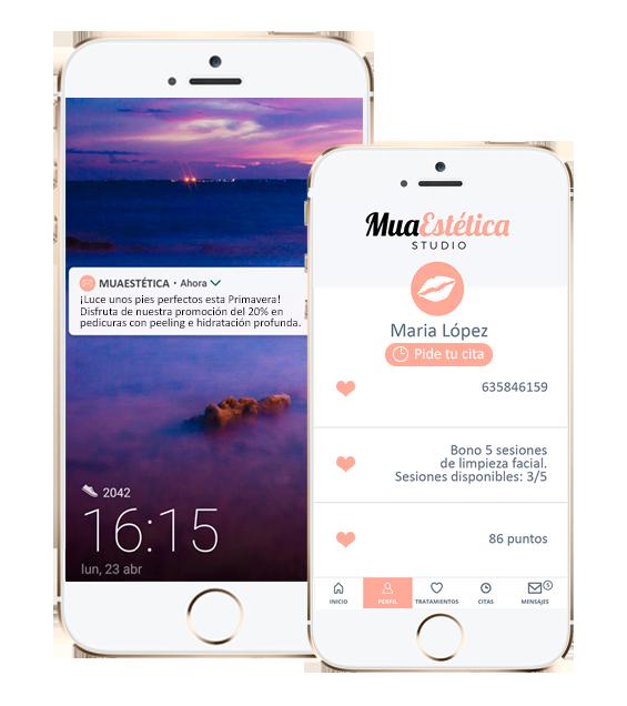 app de reservas - app personalizada con tu marca