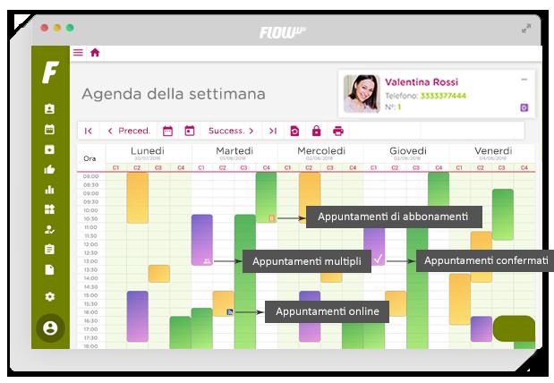 software di gestione e marketing per estetica - gestionale per clinica - agenda online - gestione di clienti