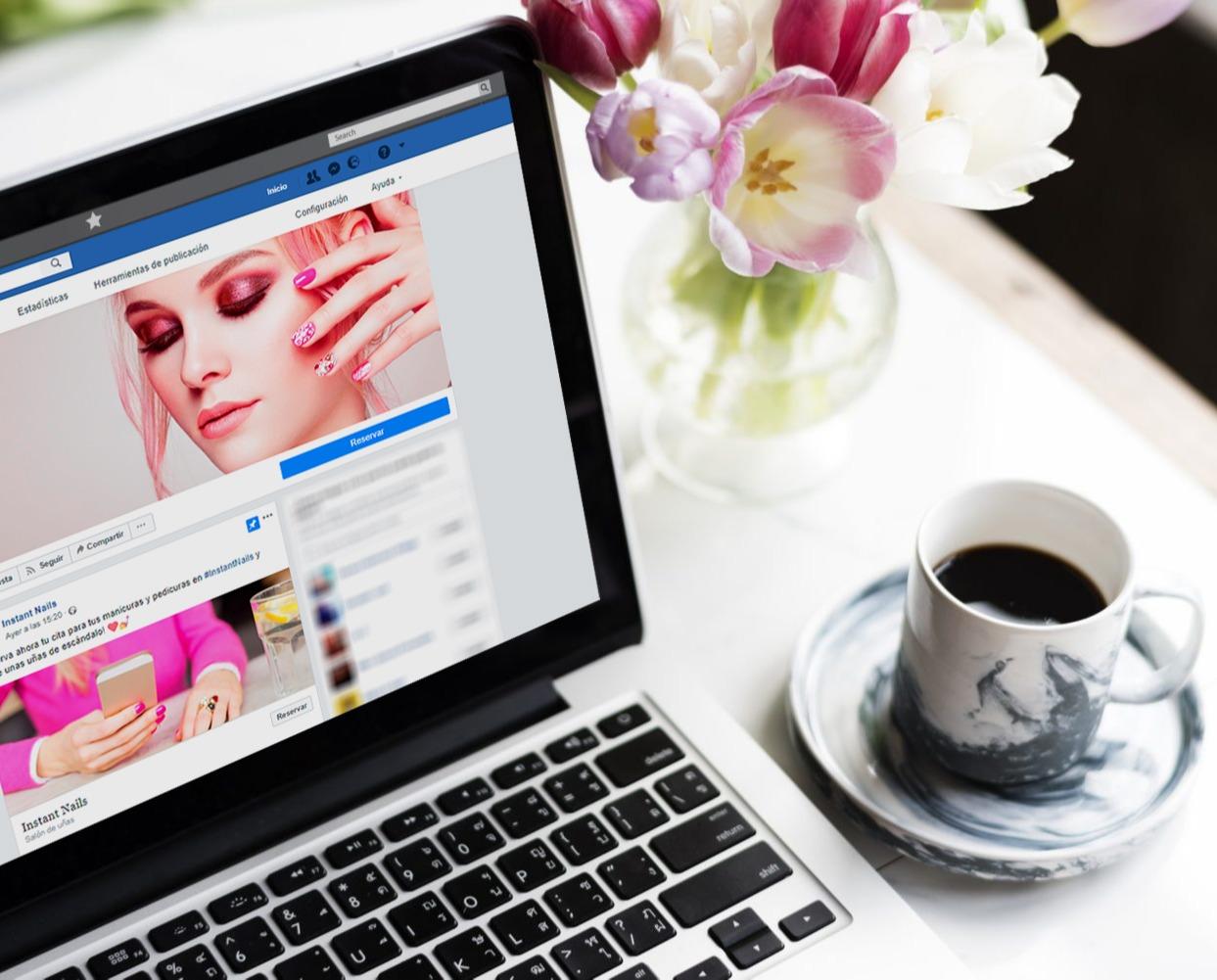 agendamento online Facebook