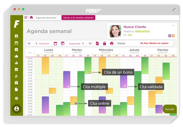 software de gestión para clínicas de estética y belleza - gestión para clínicas - agenda online