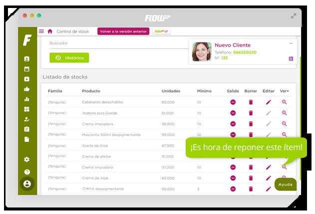 software de gestión para clínicas de estética y belleza - gestión para clínicas - control de recursos