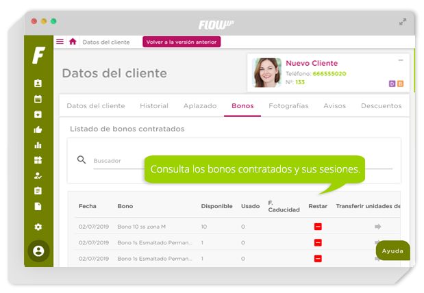 software de gestión para clínicas de estética y belleza - gestión para clínicas - flowww