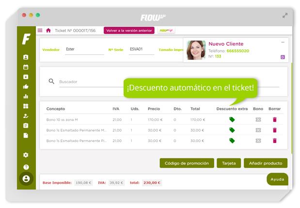 software de gestión para clínicas de estética y belleza - gestión para clínicas - facturación integrada