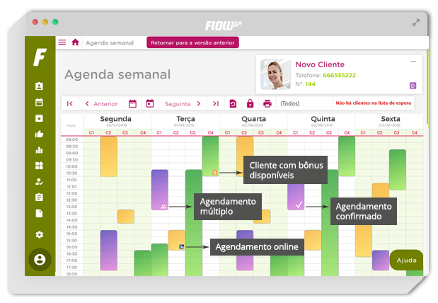 Agenda online FLOWww