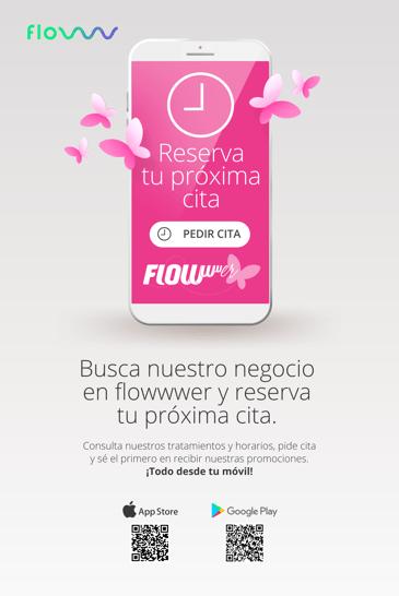 FLOWwwer flyer y poster