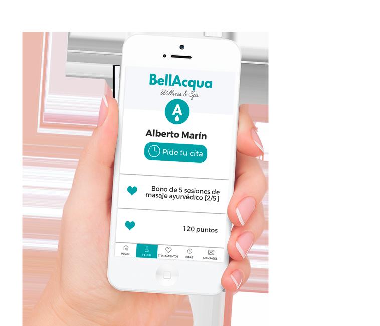 App corporativa para centros de bienestar y Spa_FLOWww
