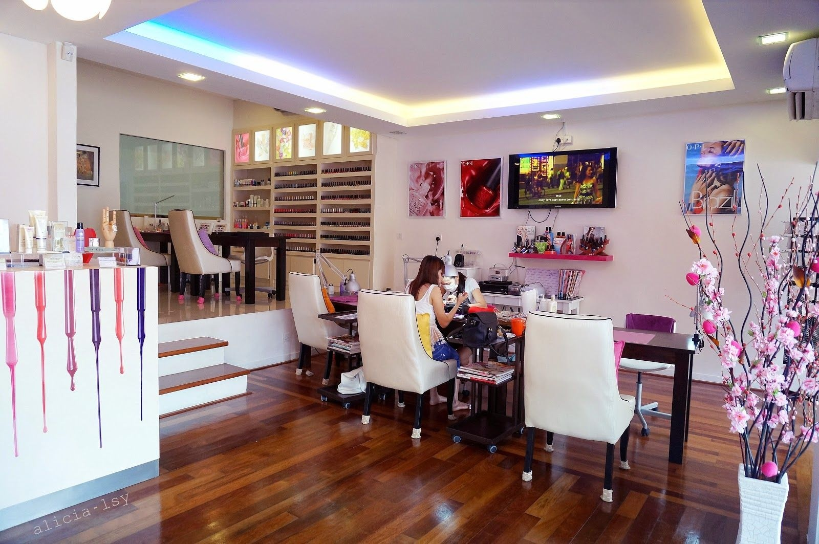 10 tips de decoraci n para tu sal n de u as - Ideas decoracion salon ...