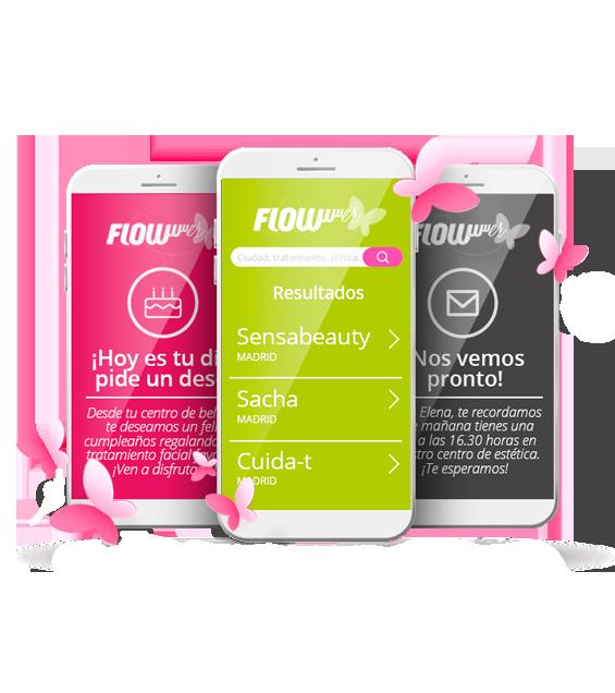 software de gestión y marketing para clínicas de estética y belleza - app de citas flowww