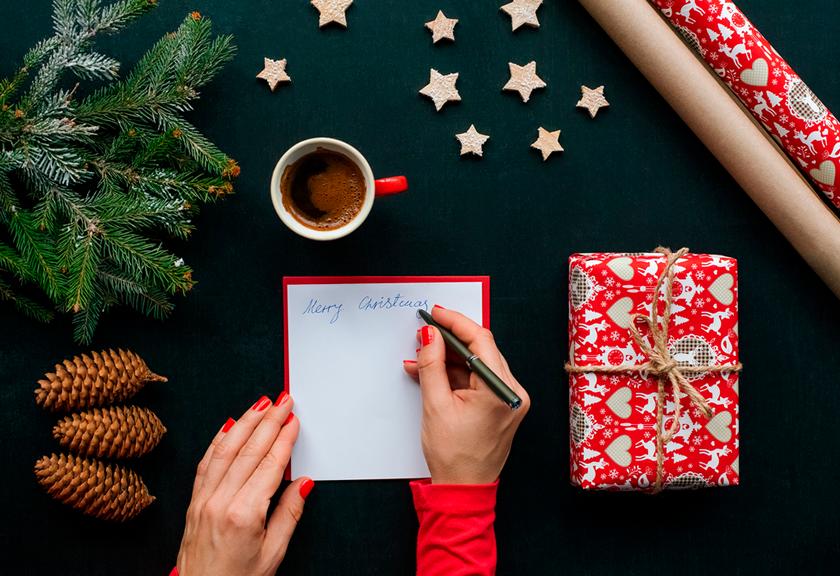 5 Tarjetas Navideñas Editables Para Tu Campaña De Navidad