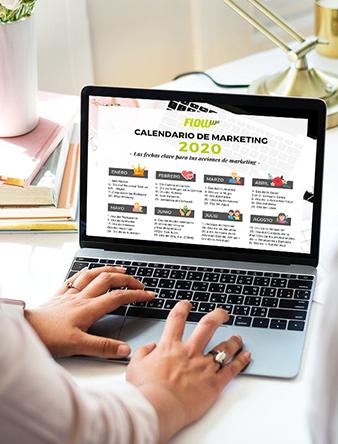 Calendario de marketing 2020 + Hojas de planificación